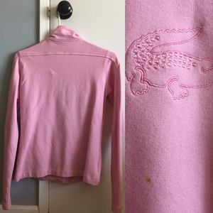 Lacoste Jackets & Coats - Pink Lacoste Track Jacket